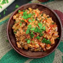 Spicy Vegan Jambalaya